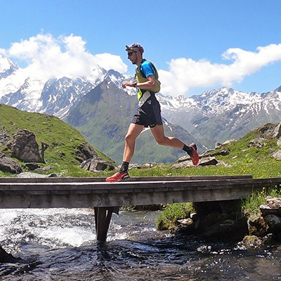 Photo reportage: Running in the Swiss Alps
